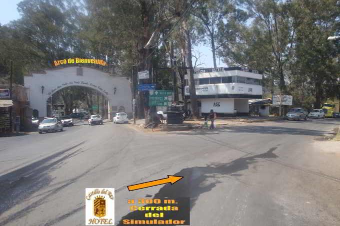Arco, ubicacion Castillo del Rey